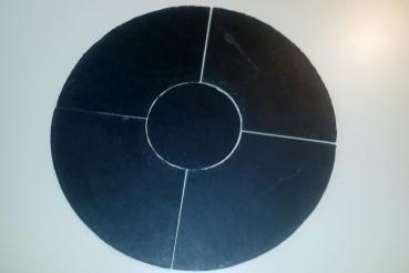 tablett rund 60cm 5tlg my. Black Bedroom Furniture Sets. Home Design Ideas